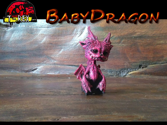 Mini Dragão | Baby Dragon | Game of thrones  MATERIAL: RESINA PURA COM PINTURA REALISTA